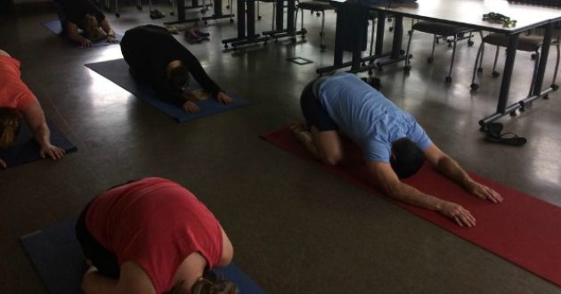 Yoga for First Responders and Resiliency, Leanne Wierzbicki, Breathe Live Believe